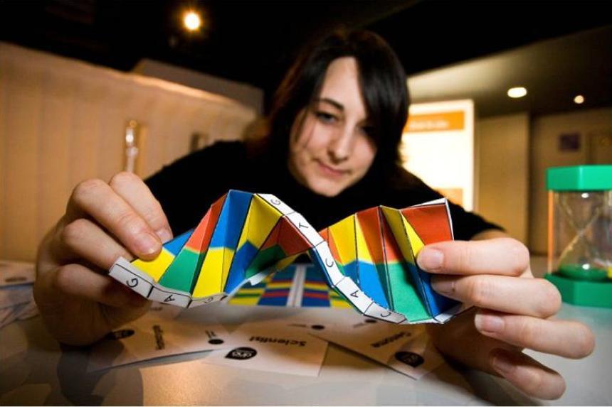 DNA Origami by Alex Bateman